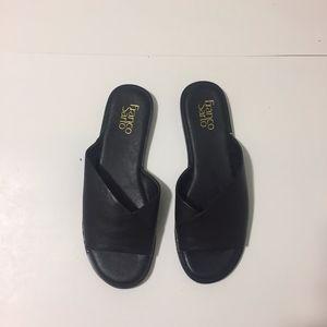 Franco Sarto Shoes - Black sandals - Riviera Size:8